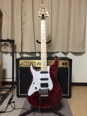 初オーダーメイドギター