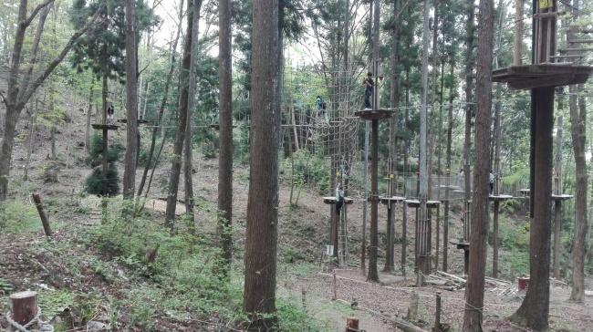 冒険の森 in やまぞえ