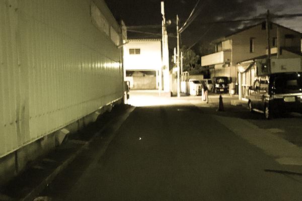 黒田の居酒屋さんまでの経路