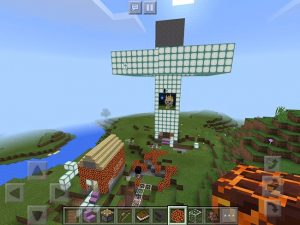 Minecraft画面1
