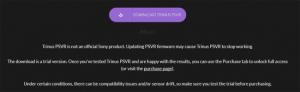 TrinusPSVRダウンロードページ