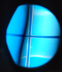 PSVRのカメラ画像(Windows壁紙拡大)